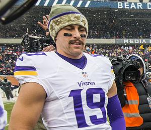 Adam Thielen - Thielen with the Minnesota Vikings in 2014.