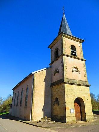 Adelange - The church in Adelange