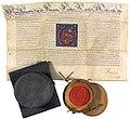 Adels- und Wappenbestätigung von Lewenau 1642.jpg