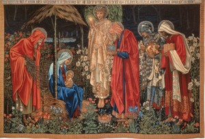 Adoration of the Magi (tapestry) - The Adoration of the Magi, copy woven 1894 for the Corporation of Manchester