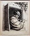 Adriaen van ostade, fumatore alla finestra, 1648-50.jpg