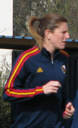 Spain women's national football team - Adriana Martin has scored 4 hat-tricks with Spain in her career
