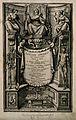 Adrianus Spigelius (Spieghel), engraved titlepage of De huma Wellcome V0005572.jpg