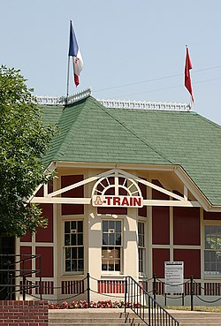 Adventureland, Iowa train station.jpg