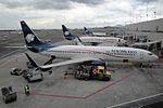 AeroMexico Boeing 737-852 XA-AMA (23250935655).jpg