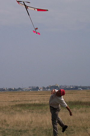 Free flight (model aircraft) - F1B Launch