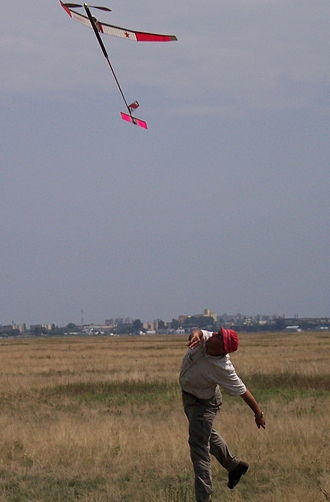 Free flight (model aircraft) - F1B Launch