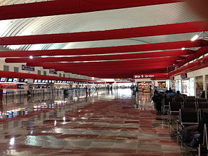 Toluca International Airport - Check-in counters