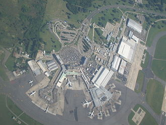 Ministro Pistarini International Airport - Aerial view of the airport