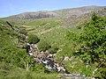 Afon Treweunydd below Cwm Clogwyn - geograph.org.uk - 147545.jpg