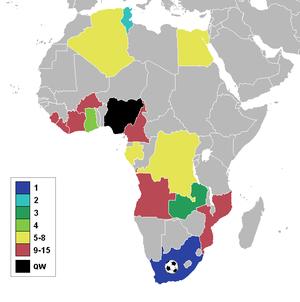 Coupe d 39 afrique des nations de football 1996 wikip dia - Prochaine coupe d afrique des nations ...