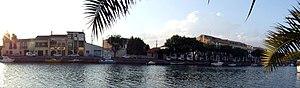 Agde - River Hérault panorama