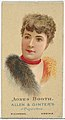 Agnes Booth, from World's Beauties, Series 2 (N27) for Allen & Ginter Cigarettes MET DP838188.jpg