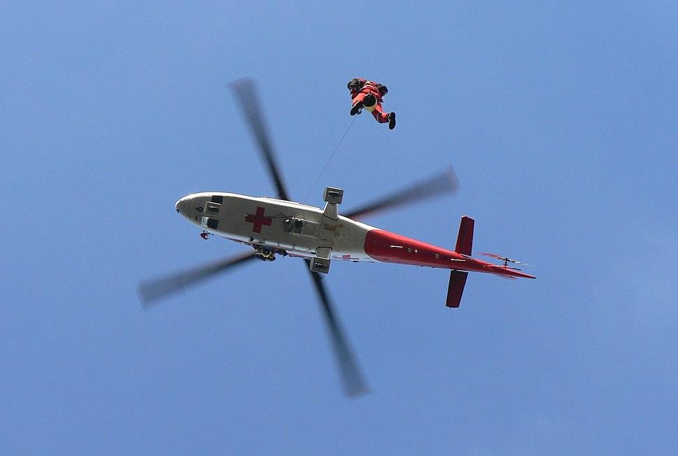Agusta A109K2 - let so záchranárom