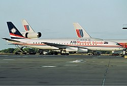 Douglas DC-8-62 der Air Marshall Islands im Jahr 1995