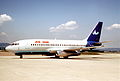 Air One Boeing 737-205; SE-DLD, July 1994 DVC (5288578864).jpg