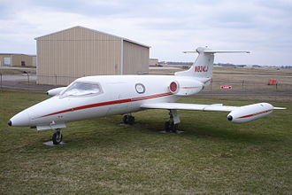 Business jet - The 1963 Learjet 23 was the first light jet.
