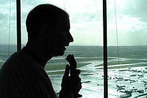 Air traffic controller - Air traffic controller at Amsterdam Airport Schiphol, Netherlands