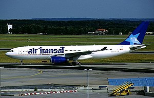 Air Transat Flight 236 - The Airbus A330-243 involved in the Accident.