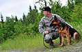 Airmen and military working dogs of 673d Security Forces Squadron train jointly with TSA officers and dogs DVIDS425337.jpg