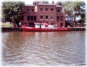 Anthony J. Celebrezze - Anthony J. Celebrezze fireboat on the Cuyahoga River