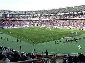 Ajinomoto Stadium - Image: Ajinomoto Stadium 20101120