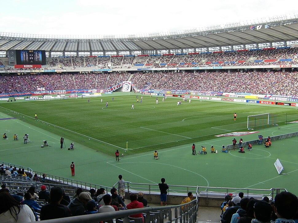 Ajinomoto Stadium 20101120
