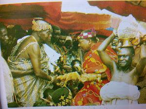 Akwamu - Image: Akwamuhene Asatehene