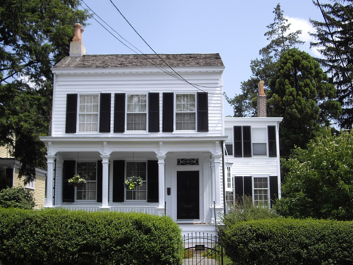 Albert einstein house wikipedia for The princeton house