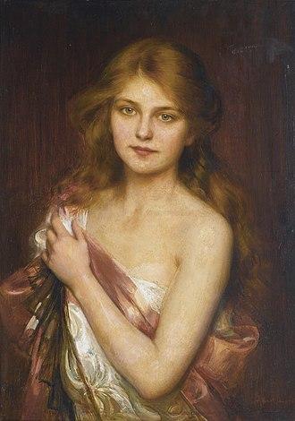 Albert Lynch - Image: Albert Lynch A young beauty