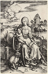 The Virgin and Child with the Monkey