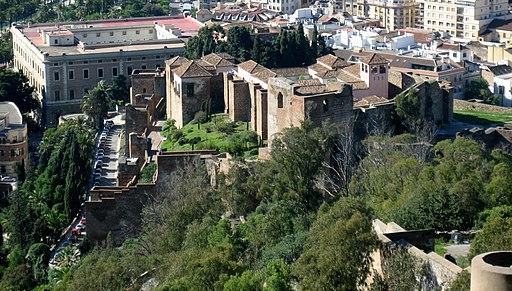 Alcazaba desde Gibralfaro