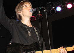 Alex Band in concerto nel 2007