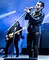 Alex Turner and Nick O'Malley Roskilde 2014.jpg