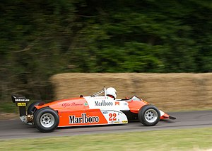 Alfa Romeo 182 - 182 presented at the 2010 Goodwood Festival of Speed.