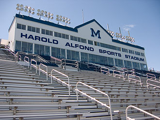 Alfond Stadium (University of Maine) - Image: Alfond Stadium, University of Maine, Orono, Maine