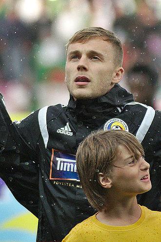 Alexandru Maxim - Maxim with Romania in 2014.