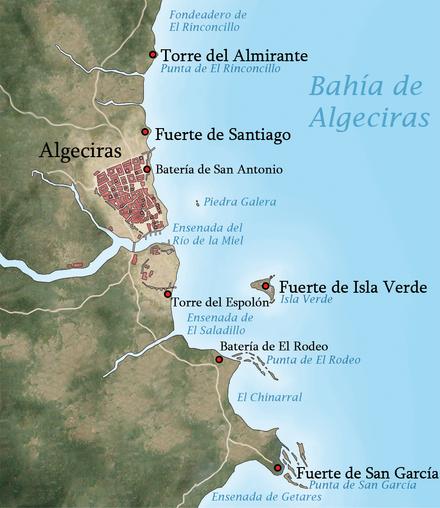 Tal día como hoy 440px-Algeciras_1801_español