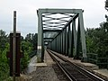 Algyő, Hungary. Railroad bridge over the Tisza river. - panoramio (1).jpg