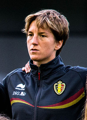Belgium women's national football team - Aline Zeler