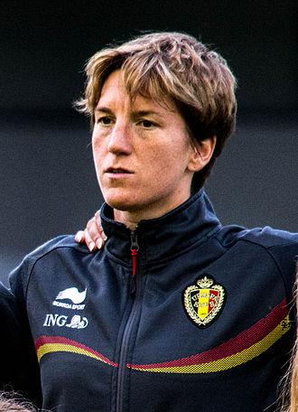 Belgium women's national football team - Aline Zeler