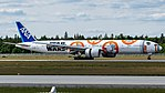 All Nippon Airways (Star Wars - BB-8 livery) Boeing 777-300ER (JA789A) at Frankfurt Airport (11).jpg
