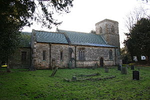 Holton cum Beckering - Image: All Saints church, Holton cum Beckering, Lincs. geograph.org.uk 94462