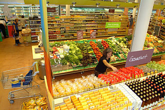 "Alnatura - View of ""Super Natur Markt"""