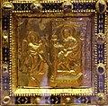 Altare di s. ambrogio, 824-859 ca., fronte dei maestri delle storie di cristo, 09 annunciazione.jpg