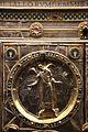 Altare di s. ambrogio, 824-859 ca., retro di vuolvino, arcangeli e scene di omaggio 02 michele.jpg