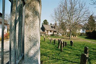 Breisach - The old Jewish cemetery in Breisach