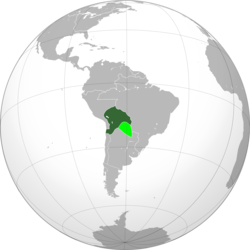Territories of Alto Peru, 1821-1825