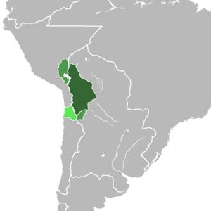 Upper Peru - Image: Alto Perú mapa