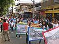 Alunos e professores de escolas públicas municipais no desfile do Dia da Independência 2015, Coronel Fabriciano MG3.JPG